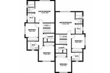 Contemporary Floor Plan - Upper Floor Plan Plan #126-201