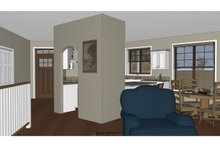 Craftsman Interior - Entry Plan #126-182