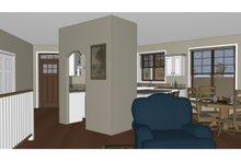 Architectural House Design - Craftsman Interior - Entry Plan #126-182