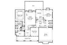 Farmhouse Floor Plan - Main Floor Plan Plan #927-41