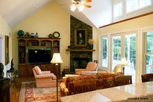 Architectural House Design - Country Interior - Family Room Plan #929-700
