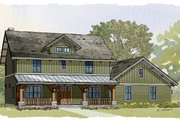Craftsman Style House Plan - 3 Beds 2.5 Baths 2456 Sq/Ft Plan #901-76 Photo