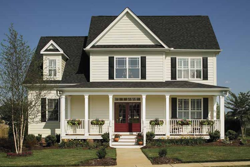 Dream House Plan - Country Exterior - Front Elevation Plan #929-502
