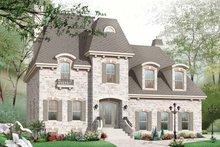 House Plan Design - Craftsman Exterior - Front Elevation Plan #23-2442