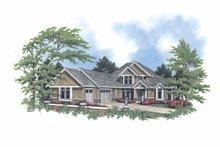 Dream House Plan - Craftsman Exterior - Front Elevation Plan #48-751