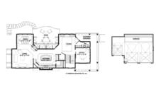 Craftsman Floor Plan - Main Floor Plan Plan #928-272