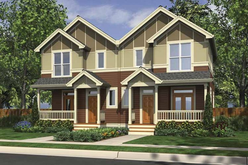 Traditional Exterior - Front Elevation Plan #48-880 - Houseplans.com