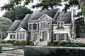 European Style House Plan - 5 Beds 4 Baths 3227 Sq/Ft Plan #429-17 Exterior - Front Elevation