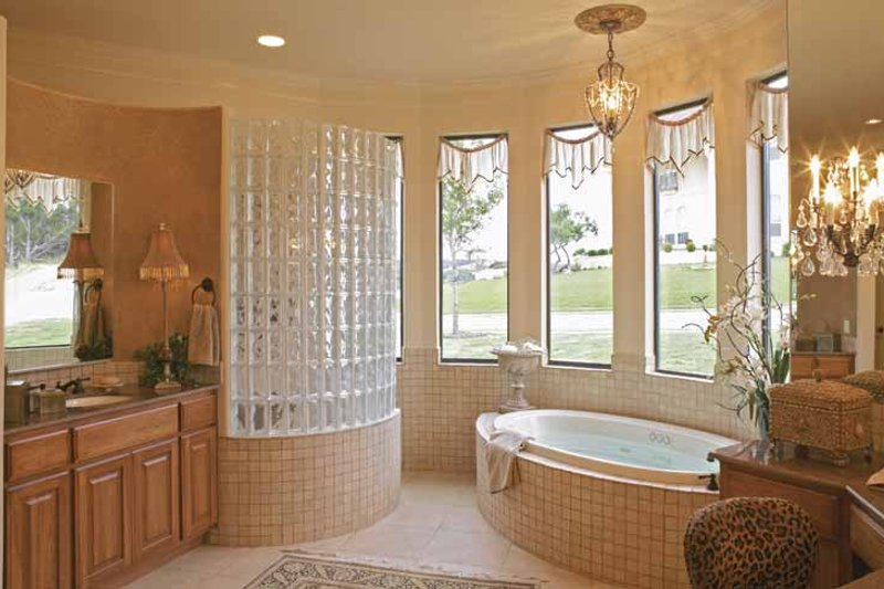 Mediterranean Interior - Bathroom Plan #952-196 - Houseplans.com