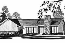 Ranch Exterior - Front Elevation Plan #36-371