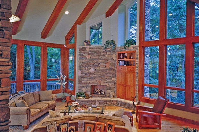 Contemporary Interior - Family Room Plan #314-287 - Houseplans.com