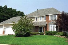 House Plan Design - Country Exterior - Front Elevation Plan #51-869