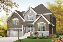 House Plan Design - Country Exterior - Front Elevation Plan #23-2543