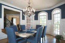 Home Plan Design - Mediterranean Interior - Dining Room Plan #927-202