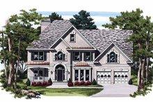 House Plan Design - Mediterranean Exterior - Front Elevation Plan #927-235