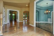 Mediterranean Style House Plan - 5 Beds 3 Baths 3067 Sq/Ft Plan #80-184 Interior - Entry