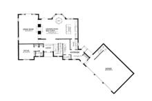 Craftsman Floor Plan - Main Floor Plan Plan #1016-109
