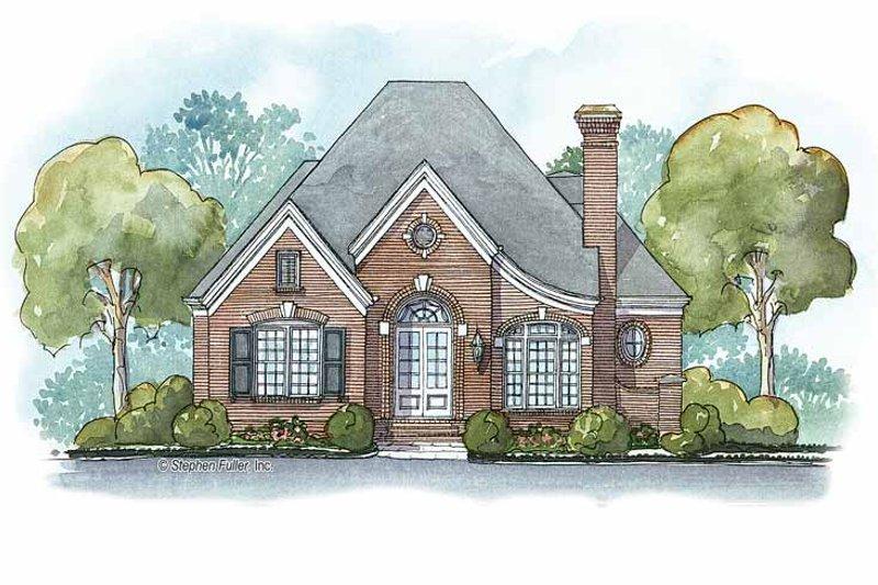 Ranch Exterior - Front Elevation Plan #429-336 - Houseplans.com