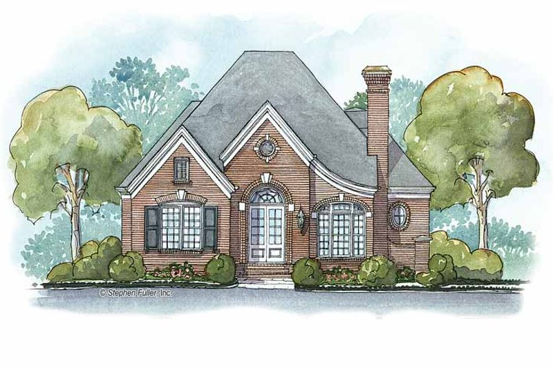 Ranch Exterior - Front Elevation Plan #429-336