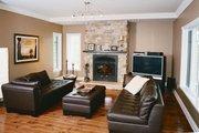 Farmhouse Style House Plan - 4 Beds 2.5 Baths 2376 Sq/Ft Plan #23-587 Interior - Family Room