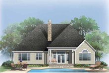 Craftsman Exterior - Rear Elevation Plan #929-777