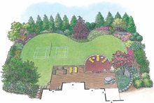 Architectural House Design - Exterior - Rear Elevation Plan #1040-104