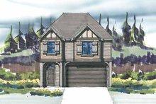 Prairie Exterior - Front Elevation Plan #509-298