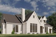 European Style House Plan - 3 Beds 2.5 Baths 3121 Sq/Ft Plan #923-184