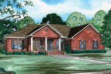 Craftsman Exterior - Front Elevation Plan #17-2737