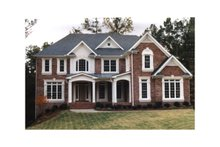 Home Plan - Colonial Exterior - Front Elevation Plan #927-203