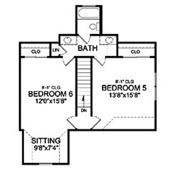 Craftsman Floor Plan - Other Floor Plan Plan #314-290