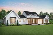 Farmhouse Style House Plan - 3 Beds 2.5 Baths 2060 Sq/Ft Plan #48-968 Exterior - Rear Elevation