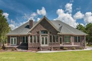 Traditional Style House Plan - 4 Beds 3 Baths 2531 Sq/Ft Plan #929-874 Exterior - Rear Elevation
