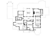 Craftsman Floor Plan - Upper Floor Plan Plan #413-122
