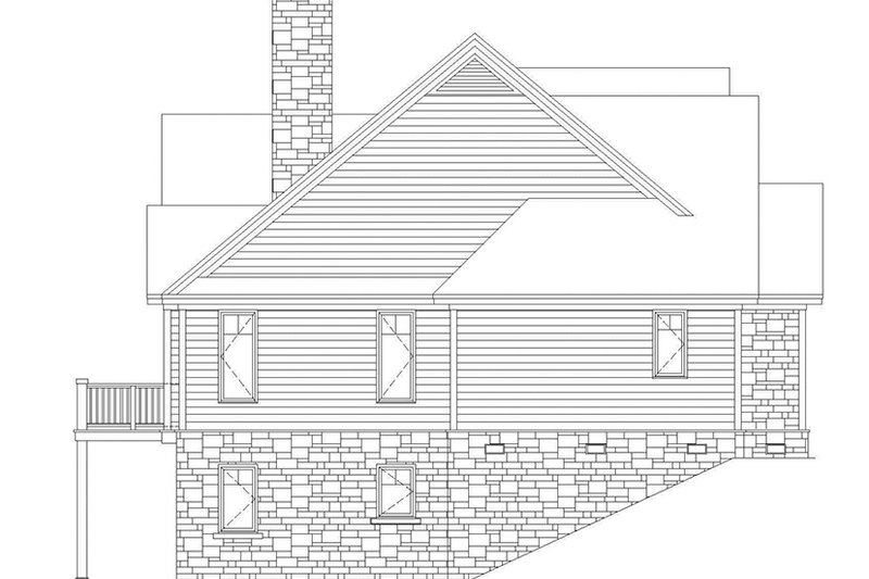 Country Exterior - Other Elevation Plan #929-416 - Houseplans.com