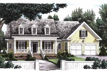 Classical Exterior - Front Elevation Plan #927-767