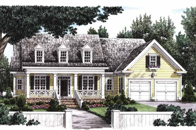 Home Plan - Classical Exterior - Front Elevation Plan #927-767