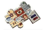 European Style House Plan - 3 Beds 2 Baths 2576 Sq/Ft Plan #25-4330 Floor Plan - Main Floor Plan
