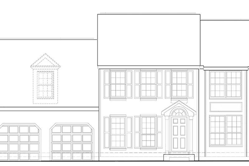 Colonial Exterior - Front Elevation Plan #1053-66 - Houseplans.com