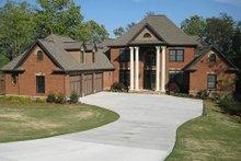 Dream House Plan - European Exterior - Front Elevation Plan #437-6