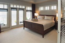 Craftsman Interior - Master Bedroom Plan #929-872