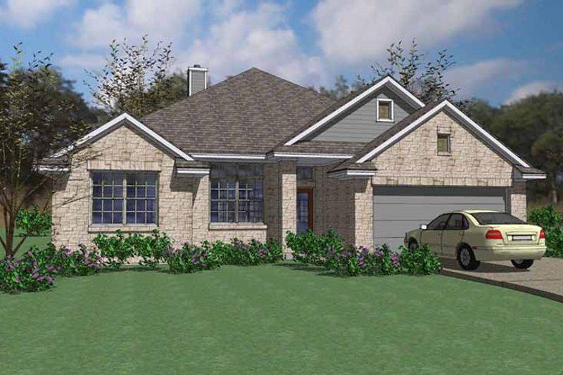 House Plan Design - European Exterior - Front Elevation Plan #120-236