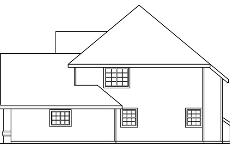 Traditional Exterior - Other Elevation Plan #124-382 - Houseplans.com