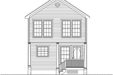 House Plan Design - Traditional Exterior - Front Elevation Plan #1061-33