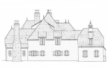 Architectural House Design - European Exterior - Other Elevation Plan #453-608