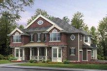 Architectural House Design - Craftsman Exterior - Front Elevation Plan #132-514