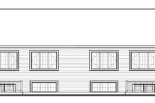 Country Exterior - Rear Elevation Plan #23-2594
