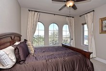 Home Plan - Mediterranean Interior - Bedroom Plan #80-221