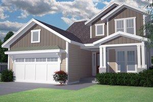 Craftsman Exterior - Front Elevation Plan #991-32