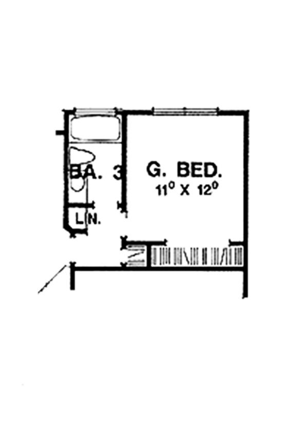 Home Plan - Colonial Floor Plan - Other Floor Plan #472-171